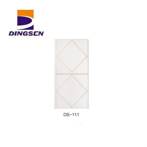 Discount Price Plastic Bathroom Pvc Ceiling Panels - new high quality pvc ceiling panel used for building materials wall ceiling DS-111 – Dingsen