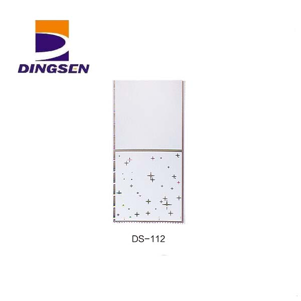 High definition Wood Plastic Exterior Wall Cladding - new high quality pvc ceiling panel used for building materials wall ceiling DS-112 – Dingsen