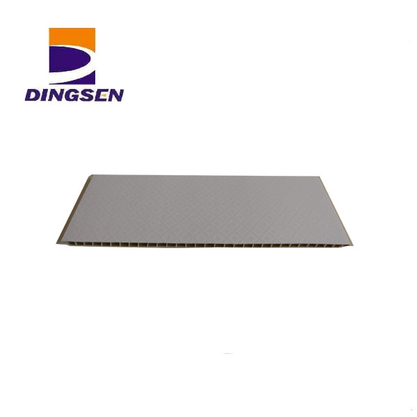 Reasonable price for Pvc Ceiling Panel For Wall - wall paneling waterproof board popular design-1 – Dingsen detail pictures