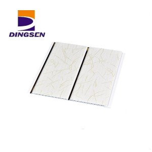 Top Suppliers Pvc Cladding Panels - Construction materials wood design price pvc ceiling panel plastic wall panel pvc ceiling board pvc wall panel DS001 – Dingsen