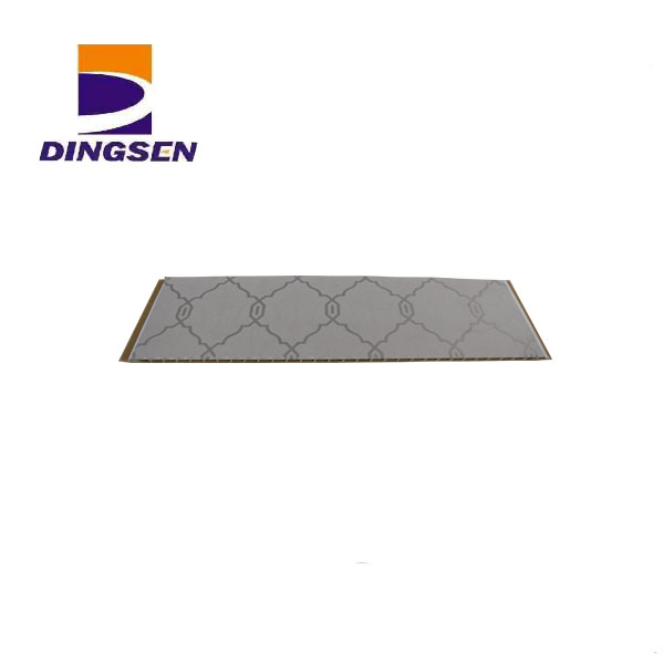 2017 New Style Bathroom Pvc Ceiling Panel Cladding - laminate mold resistant wall panelsdecorate wall panel-5 – Dingsen