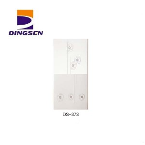 China OEM Glossy Pvc Ceiling For Hotel - 30cm hot stamping pvc panels for decorative plastic tiles design DS-373 – Dingsen