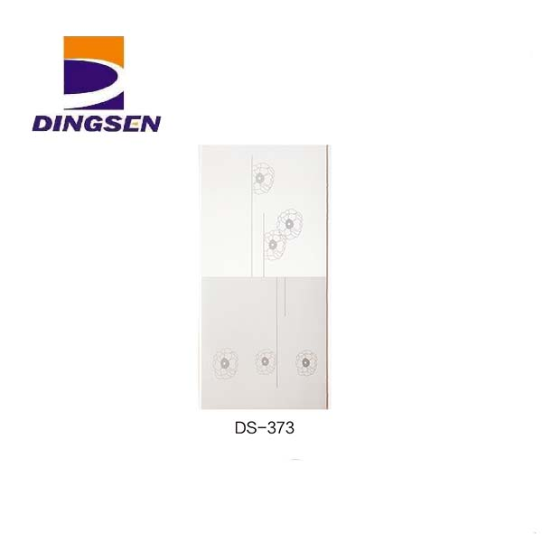 Bottom price Interior Wall Paneling - 30cm hot stamping pvc panels for decorative plastic tiles design DS-373 – Dingsen