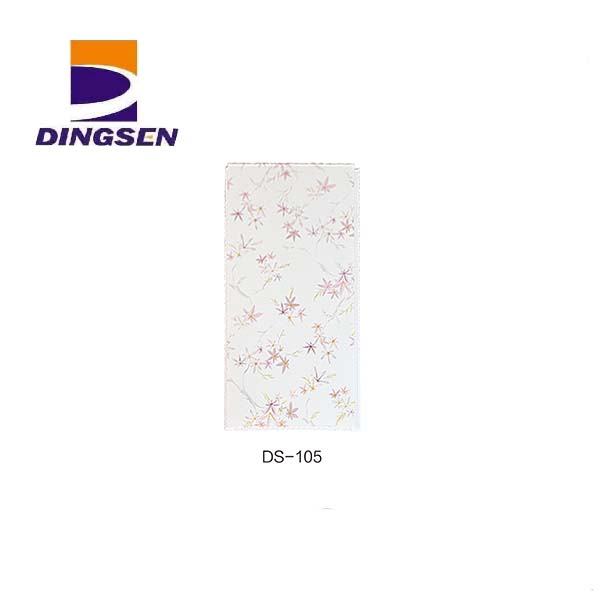Manufacturing Companies for Waterproof Pvc Wall Cladding - new high quality pvc ceiling panel used for building materials wall ceiling DS-105 – Dingsen