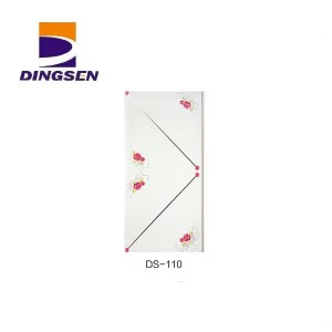 Factory wholesale 40cm Pvc Wall Panel - new high quality pvc ceiling panel used for building materials wall ceiling DS-110 – Dingsen